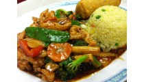 #CC. Hunan Chicken (hot)-Combination