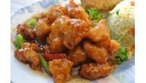 #36. Shanghai Chicken(hot)-Lunch