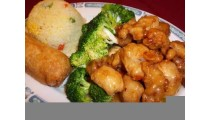 #K. Shanghai Chicken Combinaton (hot)