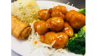 # 0.Weekly Lunch Special - Tangerine Chicken(Great Wall Style)(Mild)