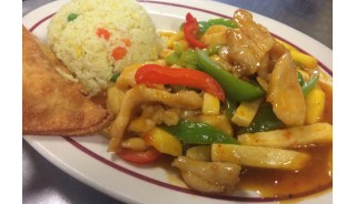 Thai Mango (Mild) - (Chicken, Beef, or Vegetables) Lunch
