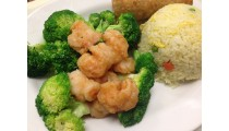 Broccoli Shrimp Healthy Style