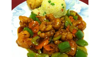 General Tso's Shrimp (hot)