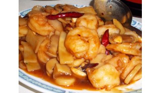 Kung Pao Shrimp (hot)