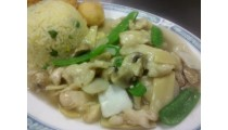 #B. Moo Goo Gai Pan Combination
