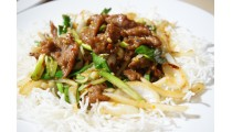 Weekly Dinner Special - Mongolian Beef (Spicy)