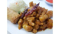 #G. Orange Chicken Combination (hot)