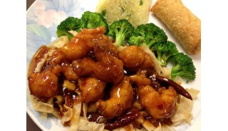 # 0.Weekly Lunch Special - Orange Shrimp (Spicy or Not)