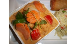 Panang Curry Shrimp  (spicy)