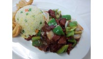 #E. Pepper Steak Combination