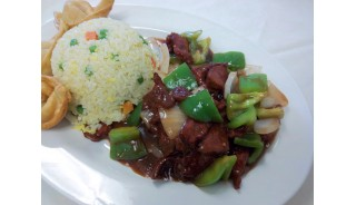 #11. Pepper Steak-Lunch