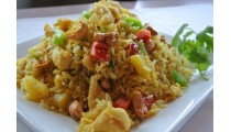 Pineapple Fried Rice Shrimp