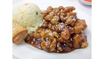 #J. Sesame Chicken Combination