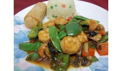 # 0.Weekly Lunch Special - Thai Basil Trio ( Spicy )