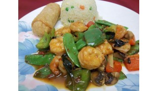 Thai Basil Shrimp (Hot)