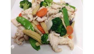 Vegetable Chicken Healthy Style